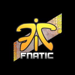 Наклейка   Fnatic (голографическая)   Катовице 2015