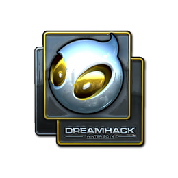 Наклейка | Team Dignitas (металлическая) | DreamHack 2014