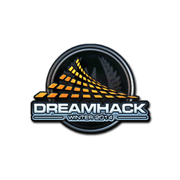 Наклейка   DreamHack Winter 2014 (металлическая)
