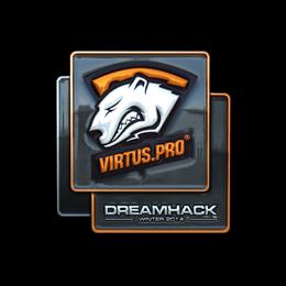 Наклейка   Virtus.Pro (металлическая)   DreamHack 2014