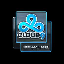 Наклейка | Cloud9 (металлическая) | DreamHack 2014