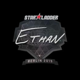 Наклейка | Ethan | Берлин 2019