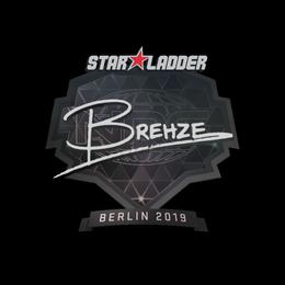 Наклейка | Brehze | Берлин 2019