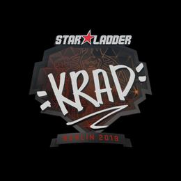Наклейка   Krad   Берлин 2019