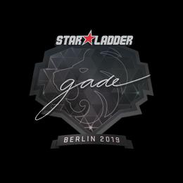 Наклейка | gade | Берлин 2019