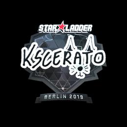 Наклейка | KSCERATO (металлическая) | Берлин 2019