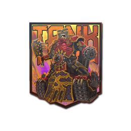 Наклейка | Владыка черепов (голографическая)