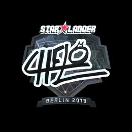 Наклейка | chelo (металлическая) | Берлин 2019