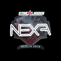 Наклейка | nexa (металлическая) | Берлин 2019