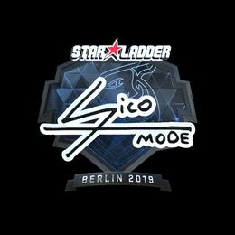 Наклейка   Sico (металлическая)   Берлин 2019