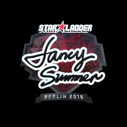 Наклейка | Summer (металлическая) | Берлин 2019