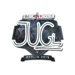 Наклейка | JUGi (металлическая) | Берлин 2019