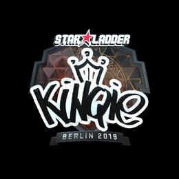 Наклейка | kinqie (металлическая) | Берлин 2019