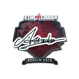 Наклейка | Attacker (металлическая) | Берлин 2019