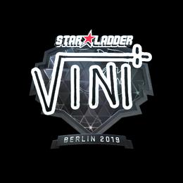 Наклейка | VINI (металлическая) | Берлин 2019