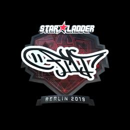 Наклейка | FL1T (металлическая) | Берлин 2019