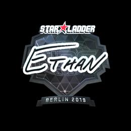 Наклейка | Ethan (металлическая) | Берлин 2019