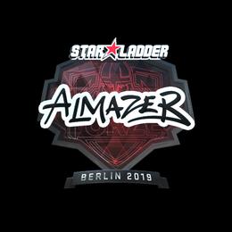 Наклейка | almazer (металлическая) | Берлин 2019