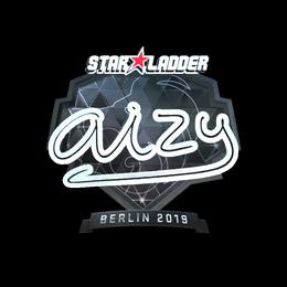 Наклейка | aizy (металлическая) | Берлин 2019