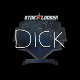 Наклейка   DickStacy   Берлин 2019