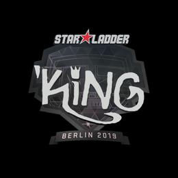 Наклейка | kNgV- | Берлин 2019