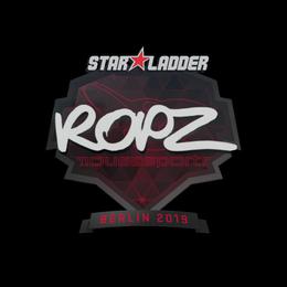 Наклейка | ropz | Берлин 2019