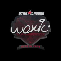 Наклейка | woxic | Берлин 2019