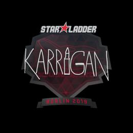 аклейка | karrigan | Берлин 2019