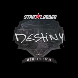 Наклейка | DeStiNy | Берлин 2019