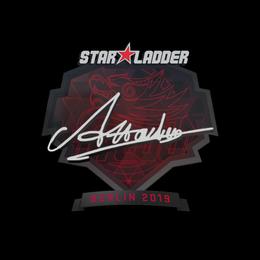 Наклейка | Attacker | Берлин 2019