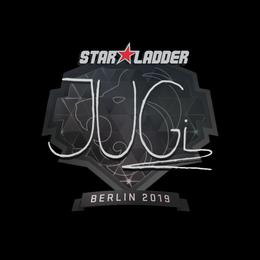 Наклейка | JUGi | Берлин 2019
