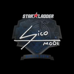 Наклейка | Sico | Берлин 2019