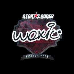 Наклейка | woxic (металлическая) | Берлин 2019