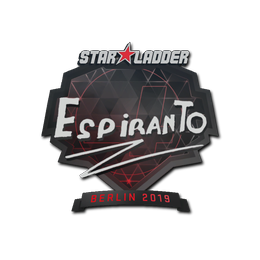 Наклейка   EspiranTo   Берлин 2019
