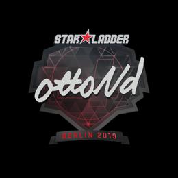 Наклейка | ottoNd | Берлин 2019