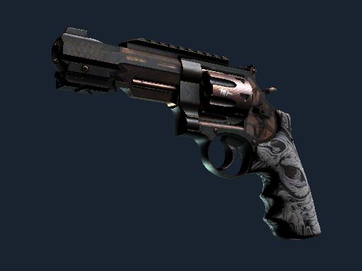 Револьвер R8 Кованая кость