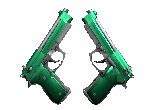 Dual Berettas Изумруд