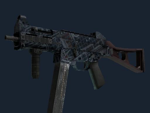 UMP-45 Чертёж-гравировка