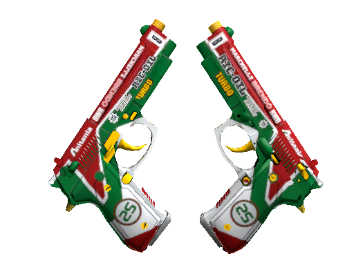 Dual Berettas Турбодвойники