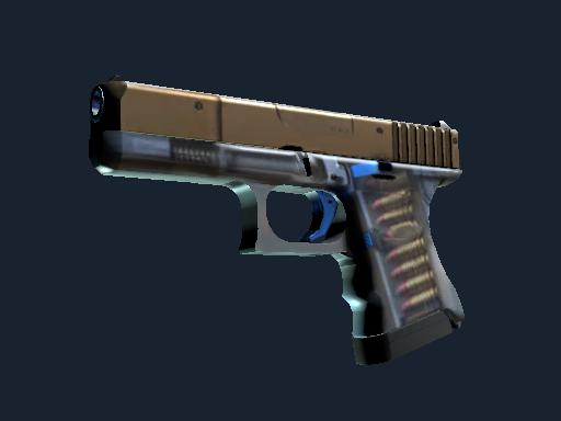 Glock-18 Прозрачный полимер