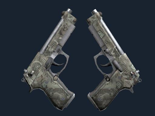 Dual Berettas Ограбление