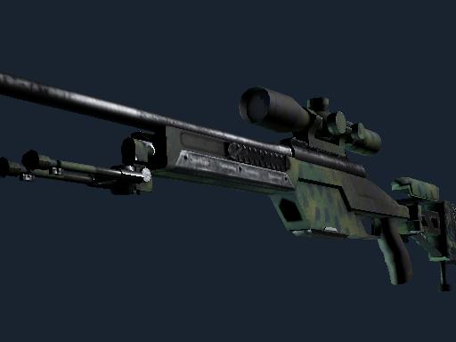 SSG 08 Тропическая штриховка