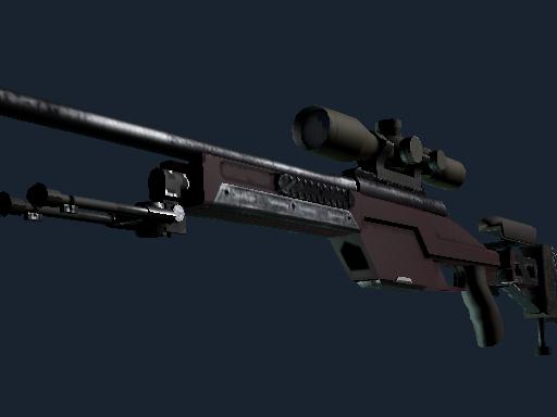 SSG 08 Красный камень
