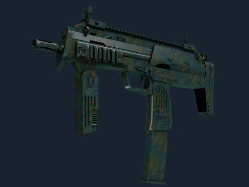 MP7 Бирюзовое цветение